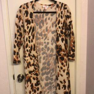 LuLaRoe Sweaters - Lularoe leopard print Sarah